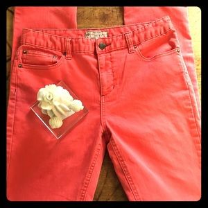 👖Free People Coral Denim Jeans, size 28